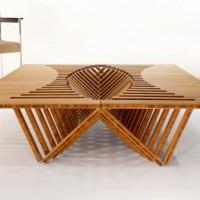 Uma mesa dobrável como você nunca viu! De novo!