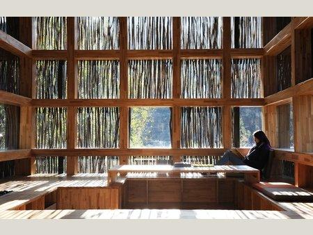 Biblioteca_Liyuan_China_madeira_arquitete_suas_ideias_08