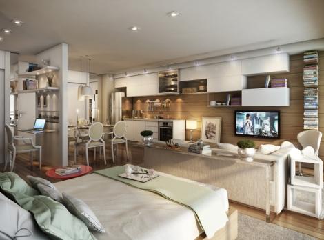 apartamentos studio area decoracao interior minimalismo Sao Paulo arquitete suas ideias (3)