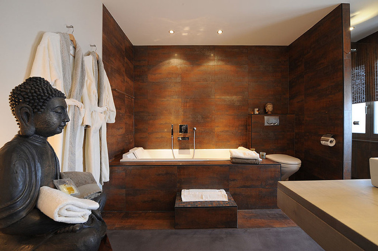 decoracao de interiores estilo handmade:banheiro estilo asiatico interior decoracao arquitete suas ideias (15)