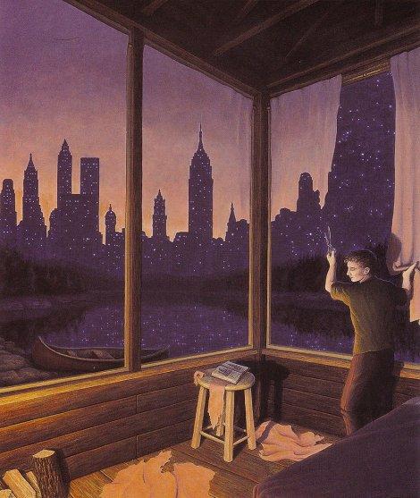 Rob Gonsalves pintura misteriosa imaginario artista realidade sonho criatividade arquitete suas ideias (11)