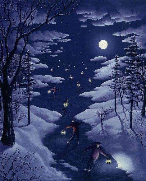 Rob Gonsalves pintura misteriosa imaginario artista realidade sonho criatividade arquitete suas ideias (12)