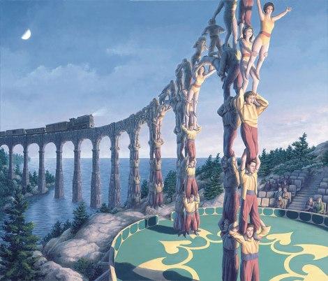 Rob Gonsalves pintura misteriosa imaginario artista realidade sonho criatividade arquitete suas ideias (13)