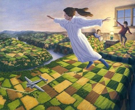 Rob Gonsalves pintura misteriosa imaginario artista realidade sonho criatividade arquitete suas ideias (14)