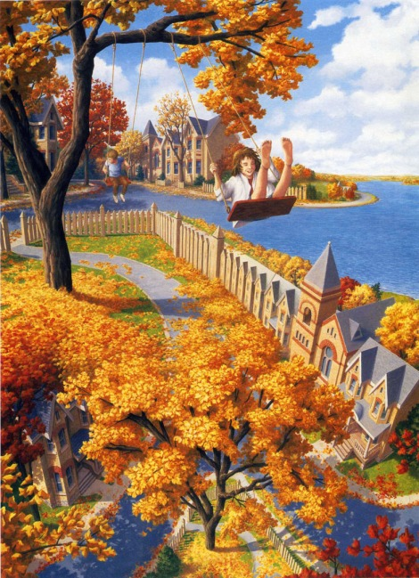 Rob Gonsalves pintura misteriosa imaginario artista realidade sonho criatividade arquitete suas ideias (16)