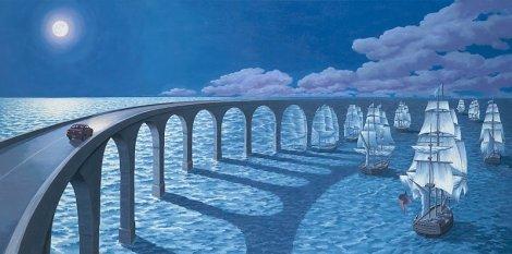 Rob Gonsalves pintura misteriosa imaginario artista realidade sonho criatividade arquitete suas ideias (17)