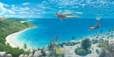 Rob Gonsalves pintura misteriosa imaginario artista realidade sonho criatividade arquitete suas ideias (18)