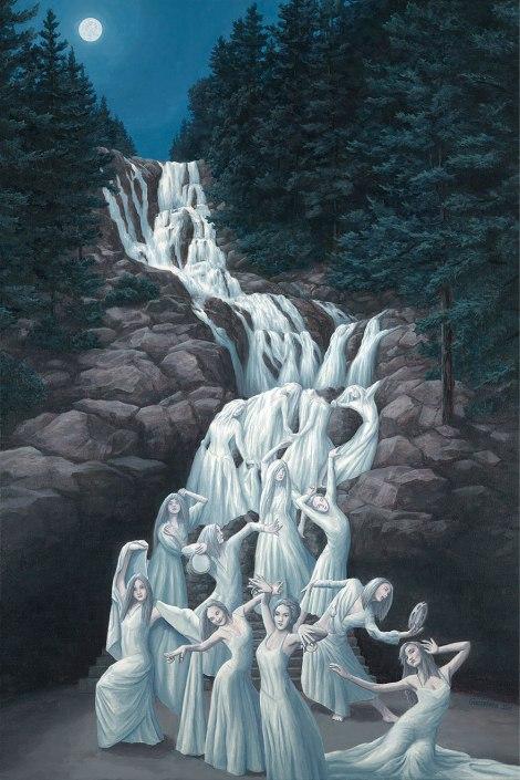 Rob Gonsalves pintura misteriosa imaginario artista realidade sonho criatividade arquitete suas ideias (3)
