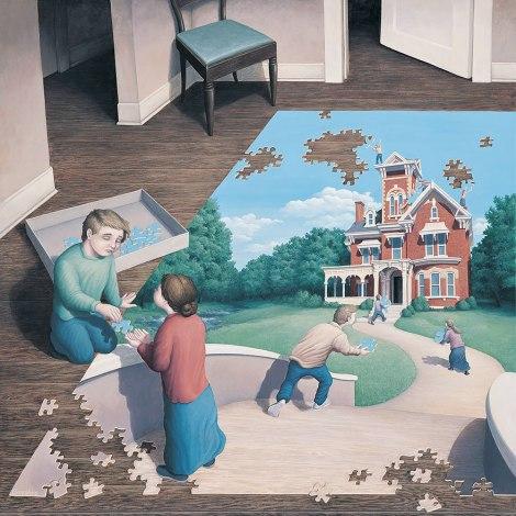 Rob Gonsalves pintura misteriosa imaginario artista realidade sonho criatividade arquitete suas ideias (7)
