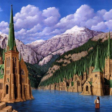 Rob Gonsalves pintura misteriosa imaginario artista realidade sonho criatividade arquitete suas ideias (8)