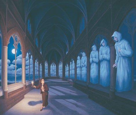 Rob Gonsalves pintura misteriosa imaginario artista realidade sonho criatividade arquitete suas ideias (9)