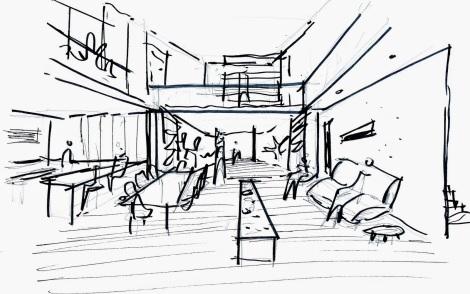 Arquitetura desenho croqui arquitete suas ideias 01