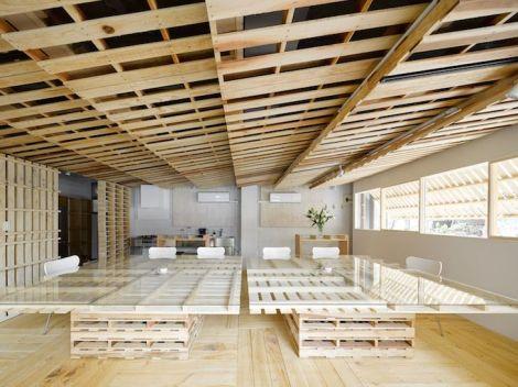Pallets interior reforma madeira Toquio Japão sustentabilidade arquitete suas ideias  (2)