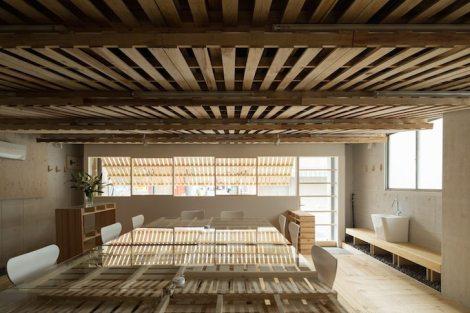 Pallets interior reforma madeira Toquio Japão sustentabilidade arquitete suas ideias  (4)