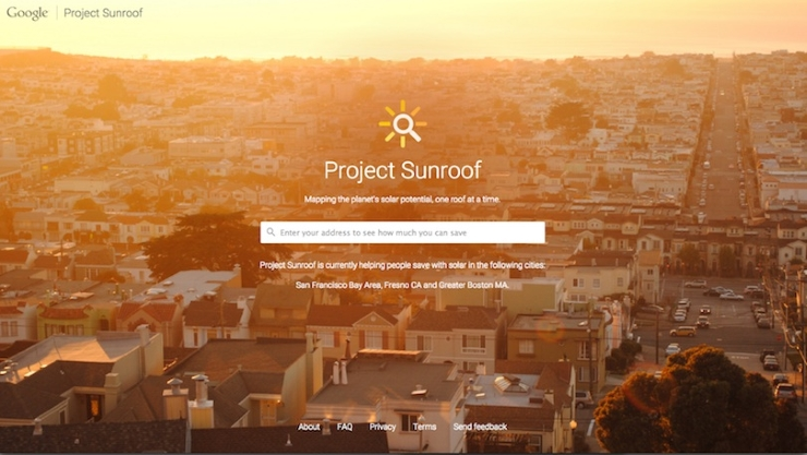 project sunroof google arquitete suas ideiais. energia telhado tecnologia 01jpg