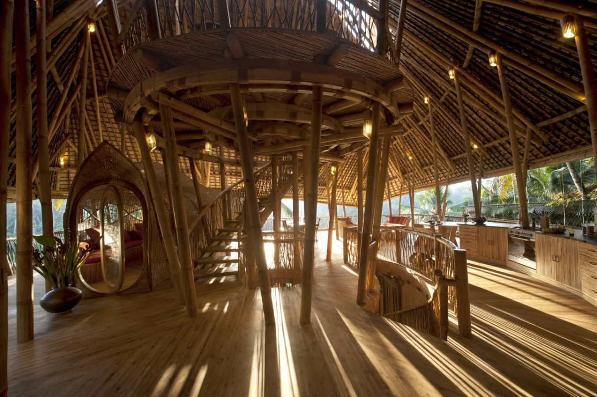 O uso do bambu na arquitetura